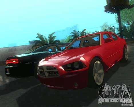 Dodge Charger 2011 для GTA San Andreas вид слева