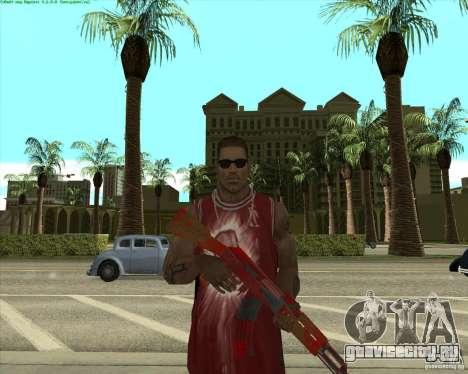 Blood Weapons Pack для GTA San Andreas восьмой скриншот