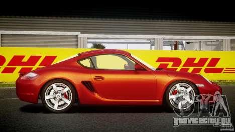 Porsche Cayman S v2 для GTA 4 вид сзади