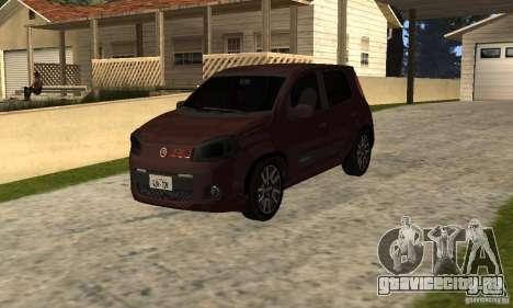 Fiat Novo Uno Sporting для GTA San Andreas