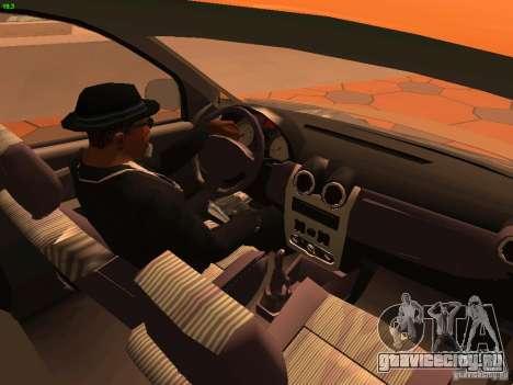 Nissan NP200 для GTA San Andreas вид сверху