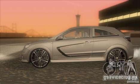 Opel Astra GTC DIM v1.0 для GTA San Andreas вид слева