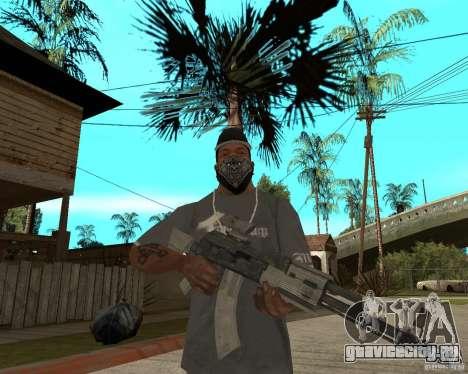 AK47 со штатным оптическим прицелом для GTA San Andreas