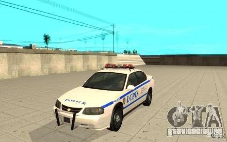 Police Patrol из GTA 4 для GTA San Andreas