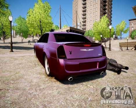 Chrysler 300 SRT8 DUB 2012 для GTA 4 вид слева