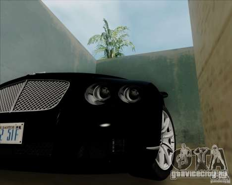 Bentley Continental GT V1.0 для GTA San Andreas вид справа