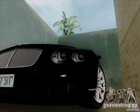 Bentley Continental GT V1.0 для GTA San Andreas вид справа