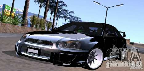 Subaru Impresa WRX light tuning для GTA San Andreas