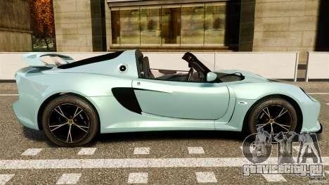 Lotus Exige S 2012 для GTA 4 вид слева