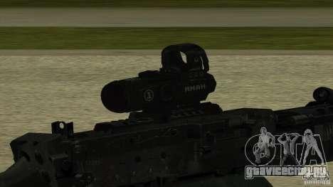 M240 для GTA San Andreas третий скриншот