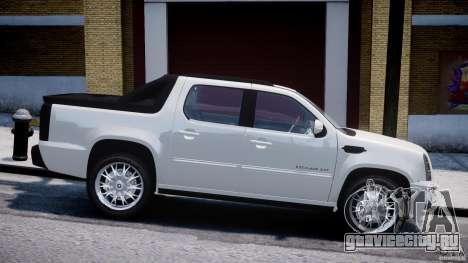 Cadillac Escalade Ext для GTA 4 вид слева