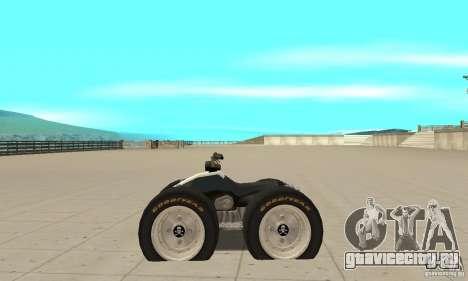 QUAD BIKE Custom Version 1 для GTA San Andreas вид слева