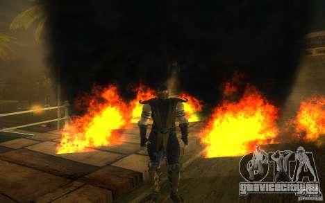 Scorpion v2.2 MK 9 для GTA San Andreas пятый скриншот