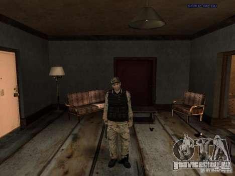 Army Soldier Skin для GTA San Andreas третий скриншот