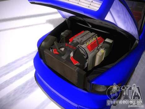 Dodge Ram SRT-10 для GTA San Andreas вид изнутри