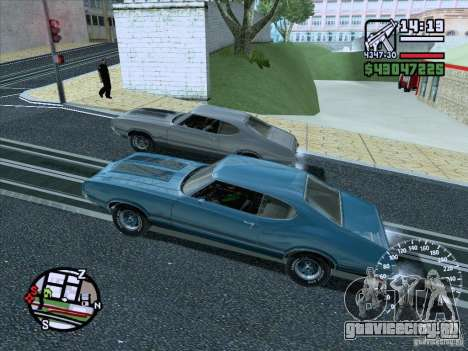 ENB Series v1.5 Realistic для GTA San Andreas двенадцатый скриншот