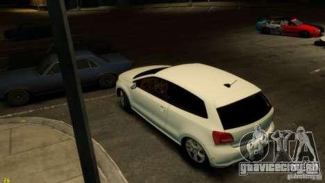 Volkswagen Polo v1.0 для GTA 4 вид сзади слева
