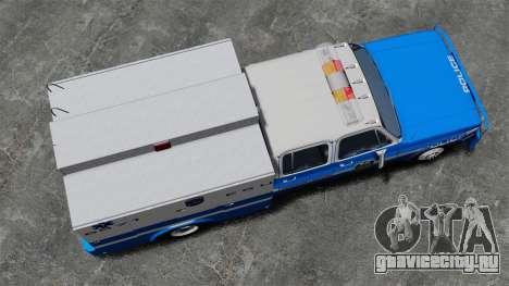 GMC C3500 NYPD ESU для GTA 4 вид справа
