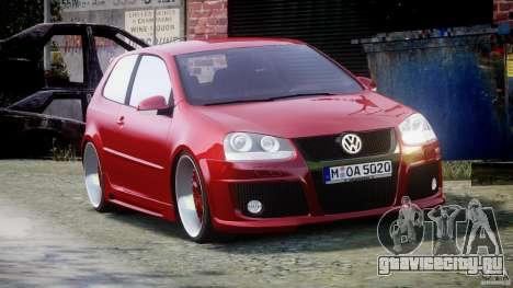 Volkswagen Golf GTI 2006 v1.0 для GTA 4 вид справа