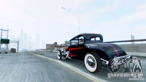 Smith 34 Hot Rod для GTA 4 вид слева