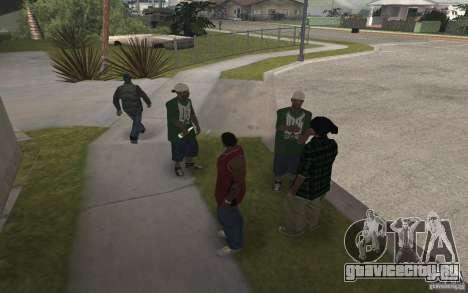 Grove Street Skin Pack для GTA San Andreas шестой скриншот
