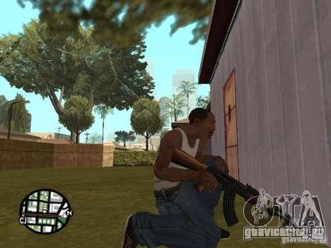 Новенький АК-47 для GTA San Andreas