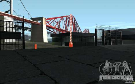 HD будка на КПП для GTA San Andreas третий скриншот