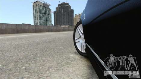 Mercedes-Benz CL65 AMG v1.5 для GTA 4 вид изнутри