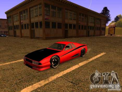 New Cheetah для GTA San Andreas