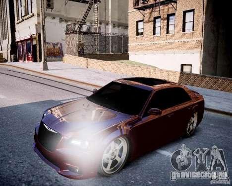 Chrysler 300 SRT8 DUB 2012 для GTA 4 вид сбоку
