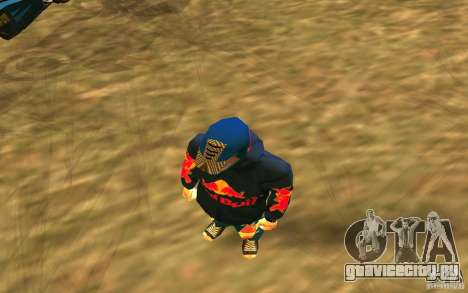 Red Bull Clothes v1.0 для GTA San Andreas третий скриншот
