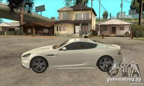 Aston Martin DBS для GTA San Andreas вид слева