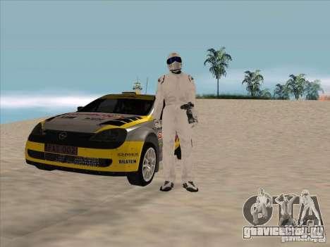Opel Rally Car для GTA San Andreas вид сзади