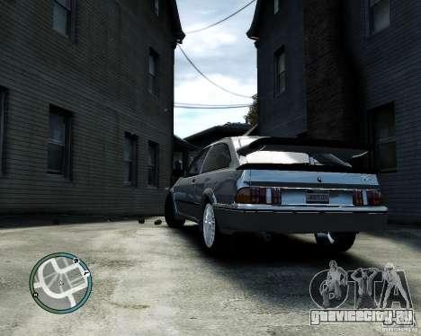Ford Sierra RS500 Cosworth v1.0 для GTA 4 вид справа
