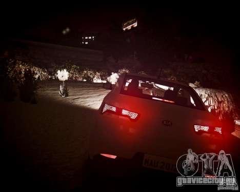 Kia Cerato Koup 2011 для GTA 4 вид изнутри