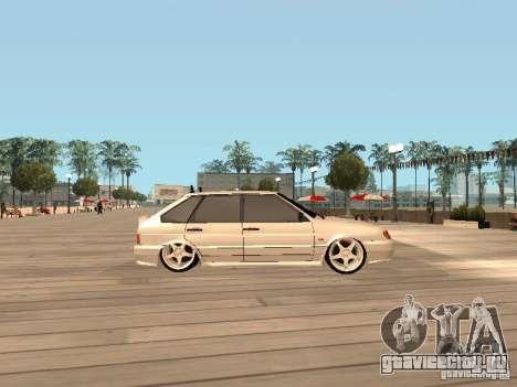 ВАЗ 2114 ЗВЕРЬ для GTA San Andreas вид слева