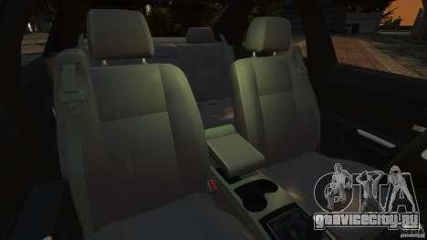 Cadillac CTS-V 2004 для GTA 4 вид изнутри
