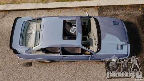 Ford Sierra RS500 Cosworth 1987 для GTA 4 вид справа