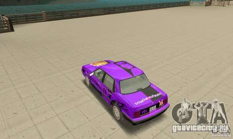 Oldsmobile Cutlass Ciera 1993 для GTA San Andreas двигатель
