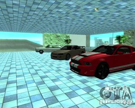 HD Автосалон для GTA San Andreas девятый скриншот