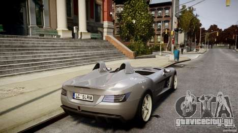 Mercedes-Benz SLR McLaren Stirling Moss [EPM] для GTA 4 вид снизу