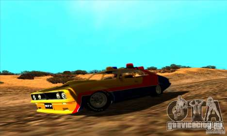 Ford Falcon 351 GT Interceptor Mad Max для GTA San Andreas вид справа