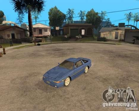 Toyota Supra MK3 для GTA San Andreas вид сзади слева