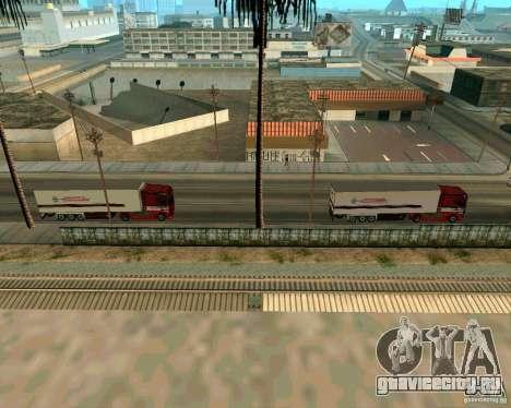Scania TopLine для GTA San Andreas вид сзади слева