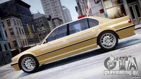 BMW 750i v1.5 для GTA 4 вид сбоку