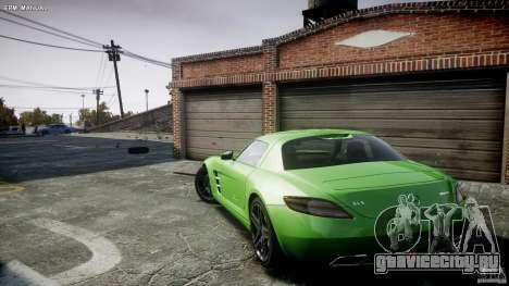 Mercedes-Benz SLS AMG 2010 [EPM] для GTA 4 вид снизу