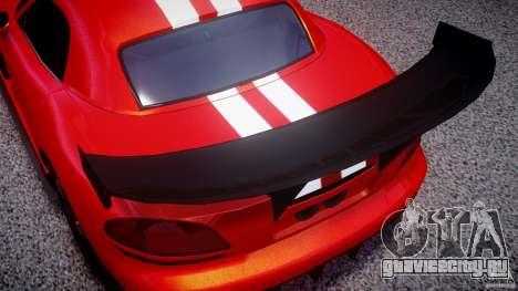 Dodge Viper RT 10 Need for Speed:Shift Tuning для GTA 4 вид сбоку
