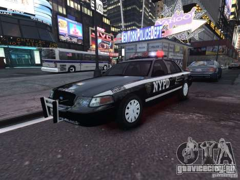 Ford Crown Victoria NYPD Auxiliary для GTA 4