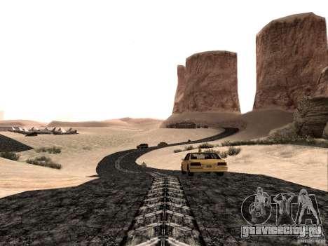 New roads in Las Venturas для GTA San Andreas второй скриншот