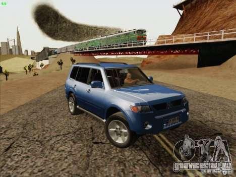 Mitsubishi Montero для GTA San Andreas вид сзади